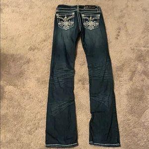 L.A. idol Jeans - LA IDOL USA size 1.. waist 27 length 34